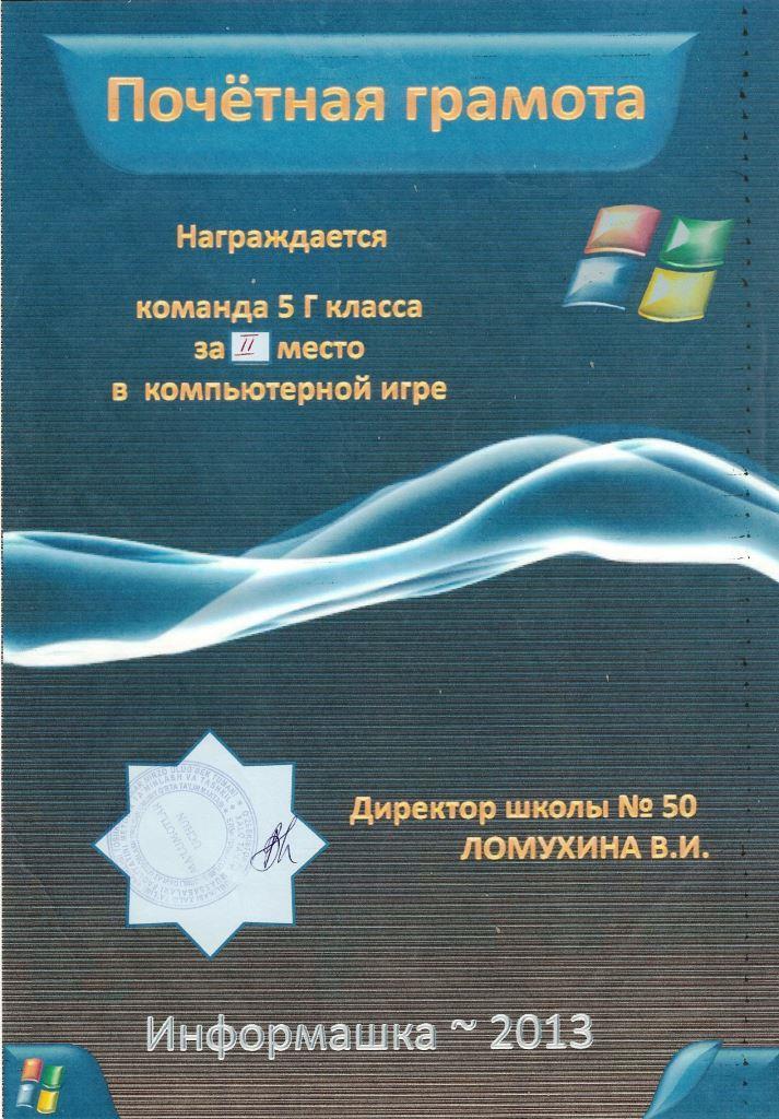 Информашка-2013