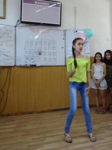 Жасмин Омонова - современный танец