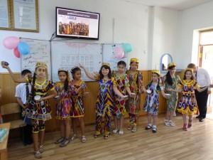 Национальный узбекский танец