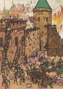 Штурм средневекового города