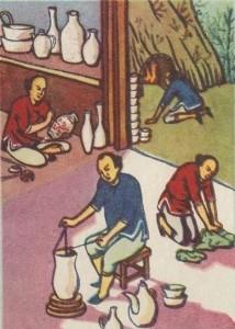 Изготовление фарфора
