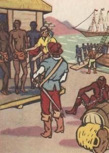Торговля рабами-неграми в Новом Свете