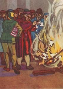 Выступление Мартина Лютера против засилия католической церкви