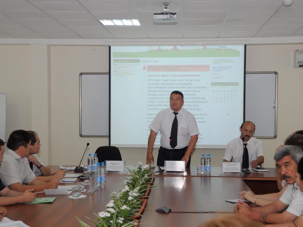 Бахтияр Худайбердиевич Данияров - Первый заместитель Министерства народного образования Республики Узбекистан