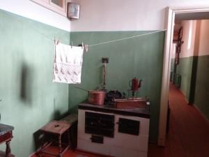 Кухня с коридором