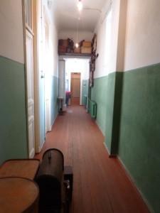 В конце коридора кабинет Льва Гумилева