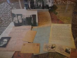 Письмо Сталину, пропускной билет Анны Ахматовой и Пунина