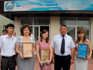 Б.Х.Данияров и призеры конкурса