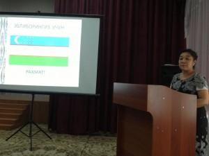 Шодия Умаровна Худайбердиева (Председатель м/о узбекского языка)
