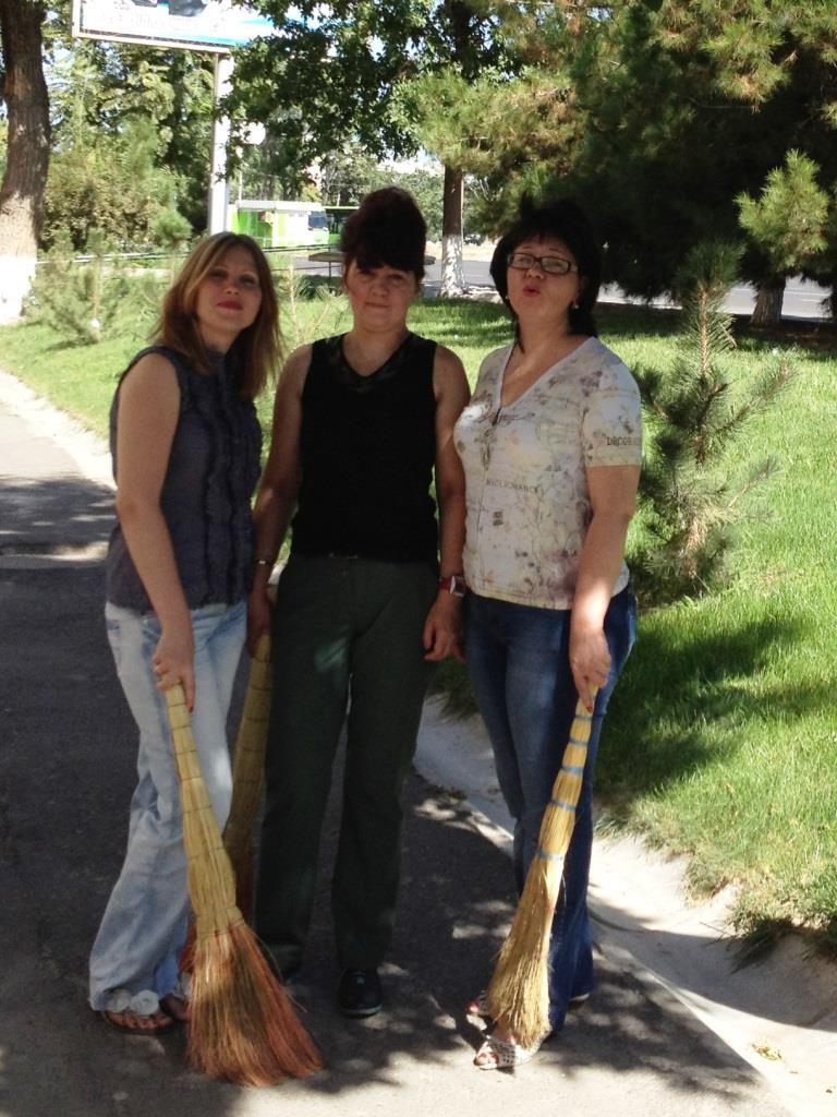 Елена Анатольевна Веденская, Татьяна Владимировна Хасьянц, Ольга Владимировна Фаттахова (справа налево)