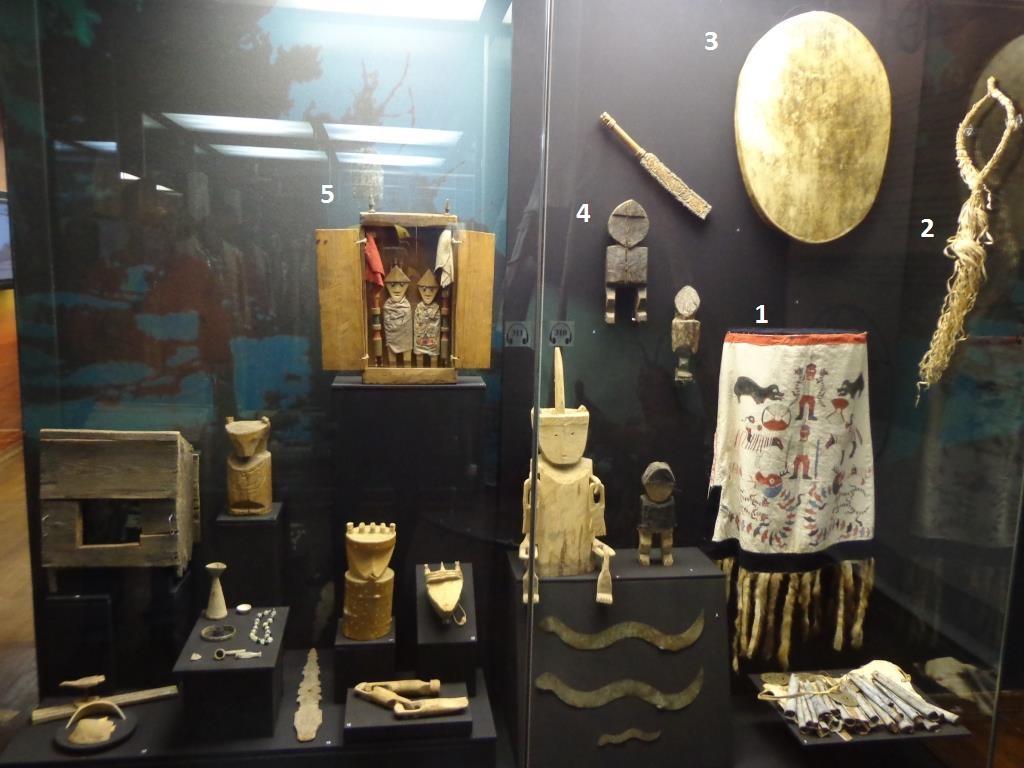 Предметы шаманов Нижнего Амура и Сахалина