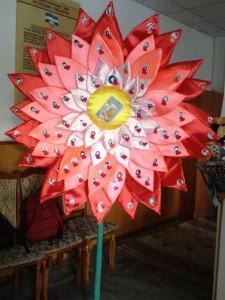 """""""Аленький цветочек"""" для учителей школы от 4 """"Е"""" класса"""