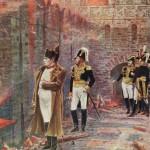 «В Кремле — пожар!». Около 4 сентября 1812. Московский пожар (1812). Кремлевская стена