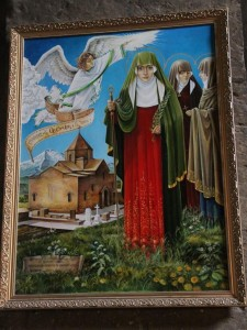 Святая Гаяне. Икона