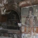 Росписи на стенах церкви Святой Гаяне