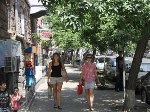 Тротуар. Ереван